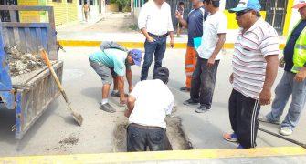 mantenimiento y limpieza de los drenes de las principales avenidas Ramón Castilla y Micaela Bastidas1