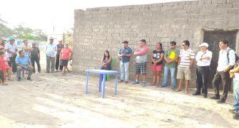 Visitando y dialogando con los vecinos del Sector Jarrín 1